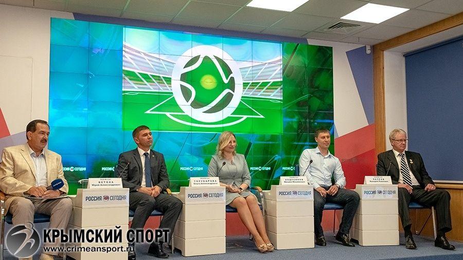 В Евпатории завершилось строительство академии футбола