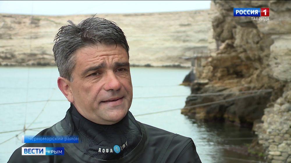 Крымские водолазы показали, как спасают людей из подземных лабиринтов