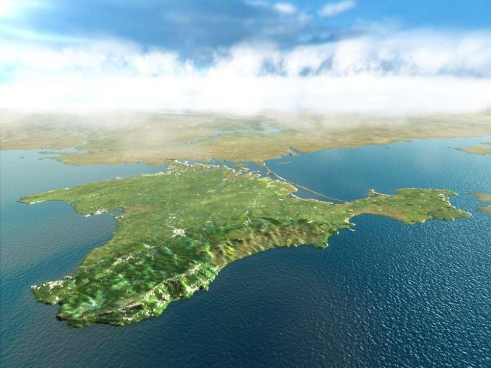 На Украине проверят телеканал, изобразивший Крым российским