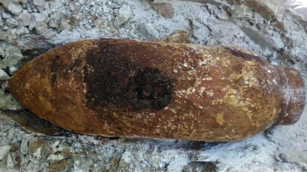 В Крыму в районе трассы «Таврида» найдена еще одна немецкая авиабомба