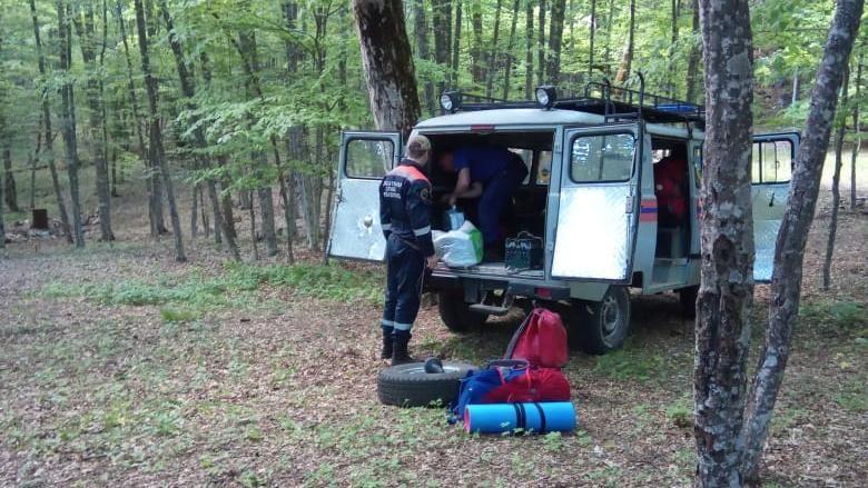 Прогулка по Карадагскому лесу закончилась для мальчика вызовом спасателей