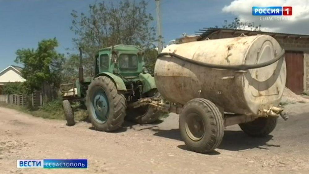 Жителям севастопольских сел не хватает питьевой воды