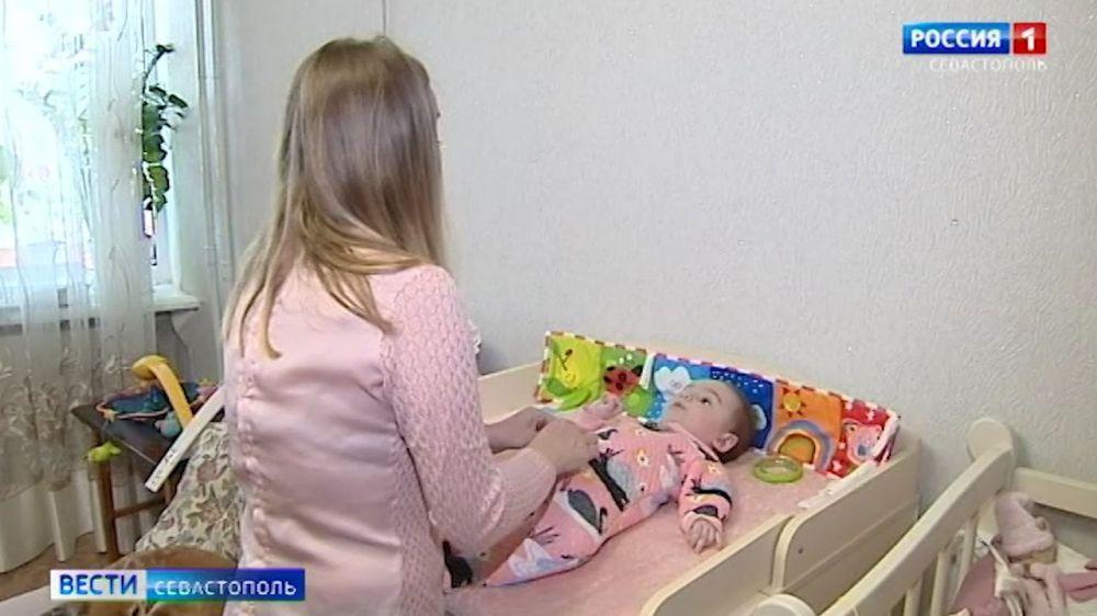 В Севастополе собирают деньги на лечение 7-мечсячной девочки