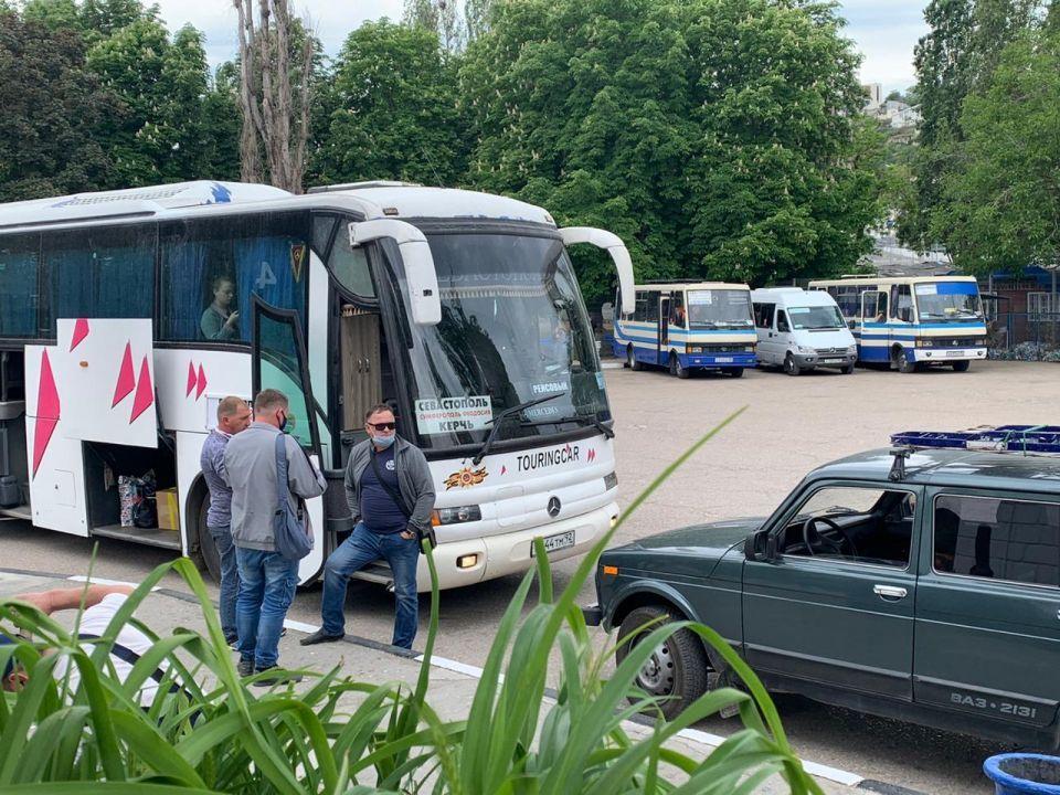 Билеты на автовокзале Севастополя можно купить только по документам
