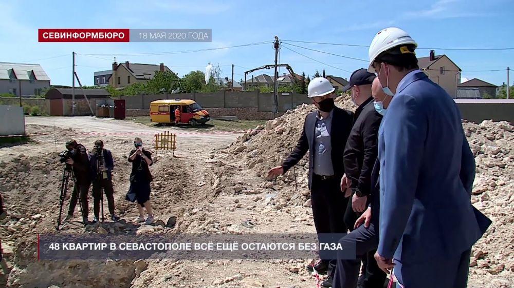 В Севастополе 48 квартир все еще остаются без газа