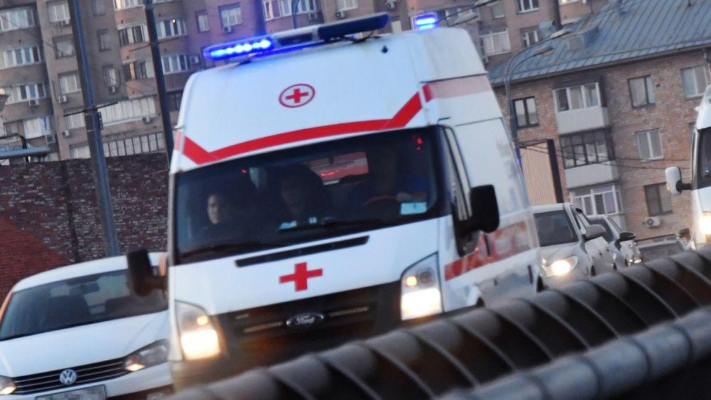 В Керчи произошло ДТП с участием машины скорой помощи
