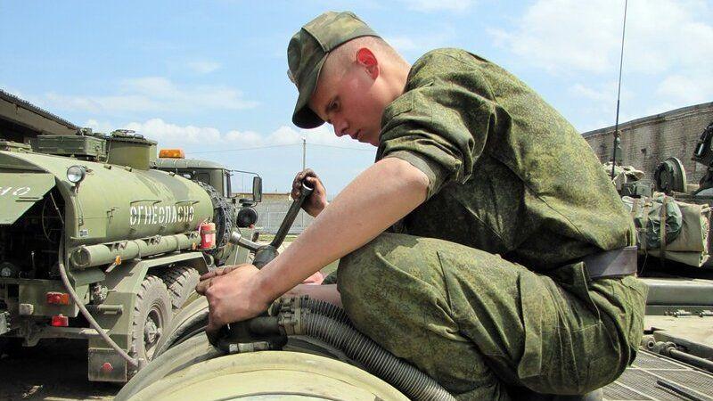 Военную технику Черноморского флота перевели на летний режим работы