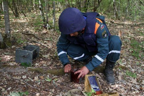 В Крыму уничтожены авиабомбы SD-50 недавно найденные на «Тавриде»