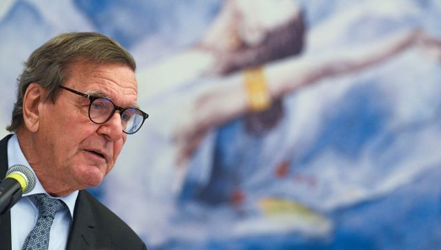 Шредер жестко ответил украинскому послу на пари по Крыму