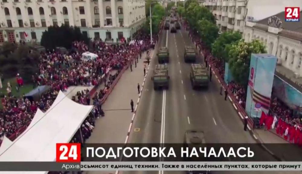 Южный военный округ начал подготовку к проведению военных парадов