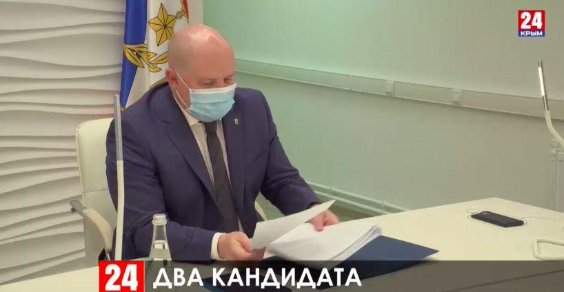 Михаил Развожаев выдвинут кандидатом на пост губернатора Севастополя