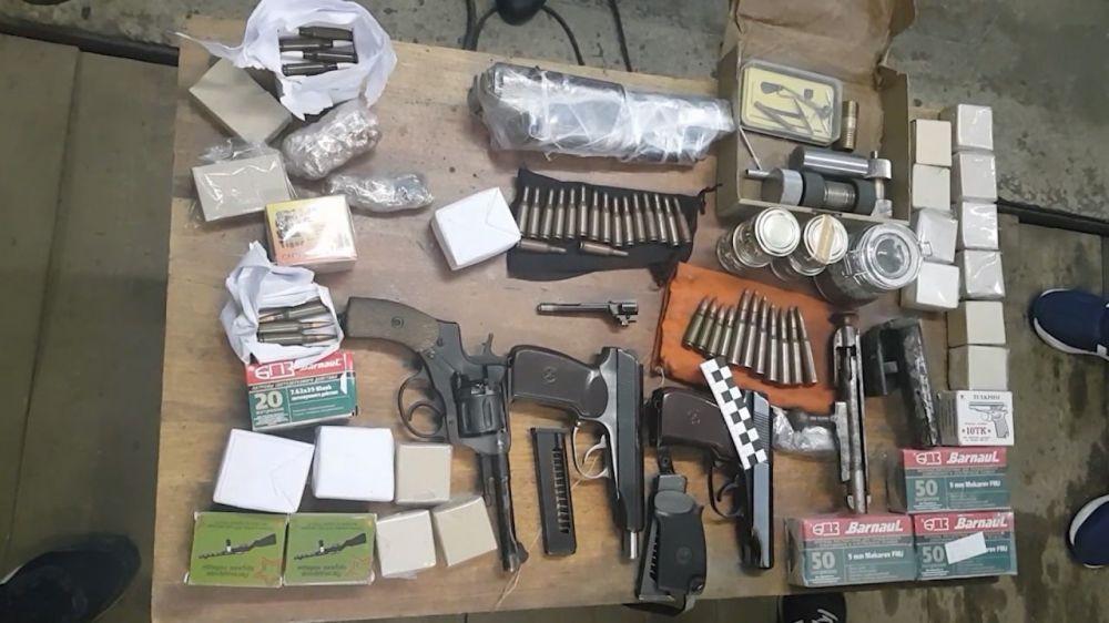 Пресечена деятельность оружейных мастерских в Крыму и других регионах