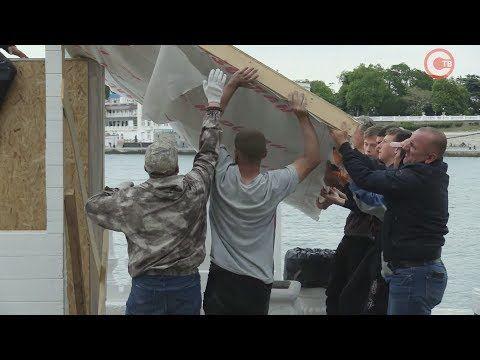 Михаил Развожаев поручил демонтировать на пляже «Хрустальном» НТО, установленные без согласования (СЮЖЕТ)