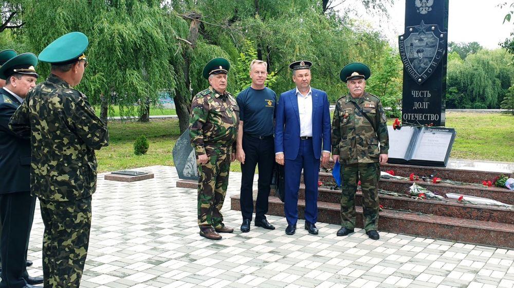 Поздравления Евгения Рукавишникова с Днем пограничника!