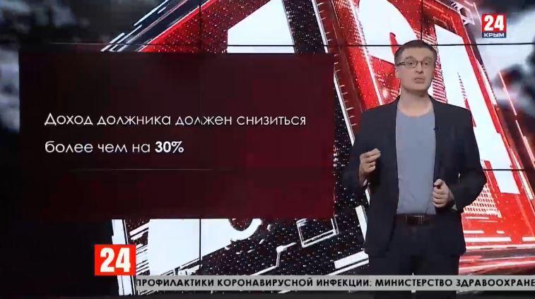 Крымские заёмщики направили в банки более 5 тысяч обращений на реструктуризацию долга