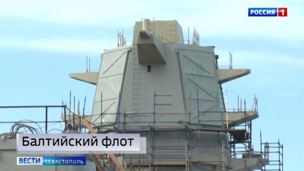 В Санкт-Петербурге спустили на воду фрегат «Адмирал Головко»