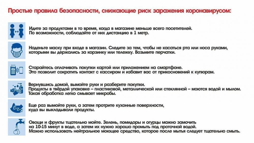 МЧС Крыма информирует: правила защиты от вирусов в магазине