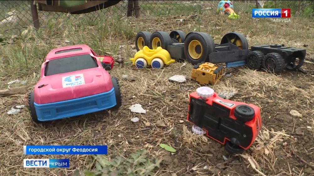 В Феодосии на пожаре погиб 5-летний мальчик