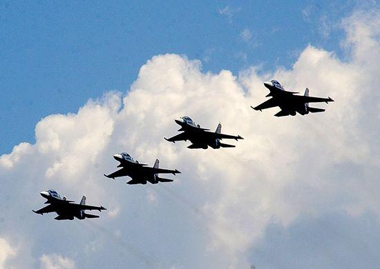50 самолётов и вертолётов ЮВО примут участие в воздушной части парада к 75-летию Победы 24 июня