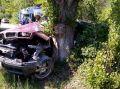 В Крыму, доставать водителя из повреждённого автомобиля пришлось спасателям
