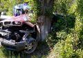 В Бахчисарайском районе BMW намотался на дерево