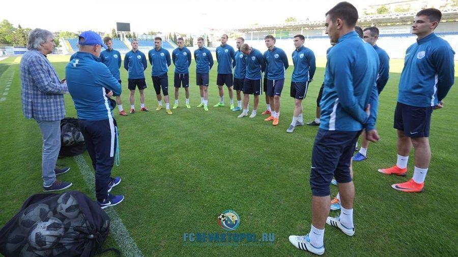 ФК «Севастополь» возобновил тренировки после снятия ограничений по COVID-19