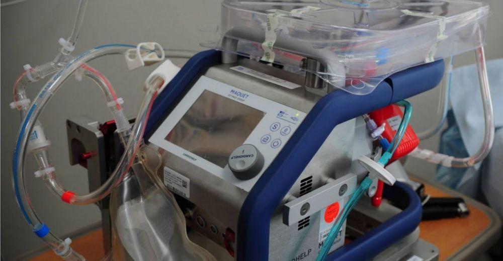 В Крымской больнице появился еще один аппарат ЭКМО
