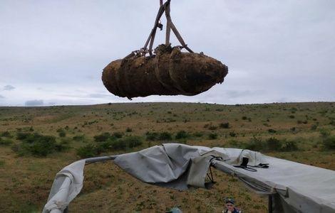 В Крыму саперы уничтожили тринадцать авиабомб