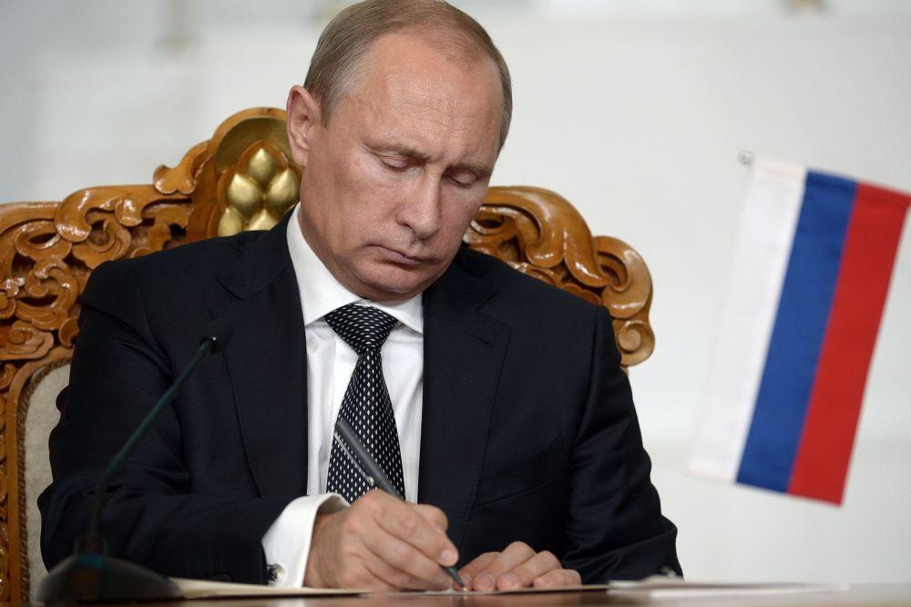 Путин подписал Указ о проведении голосования по Конституции