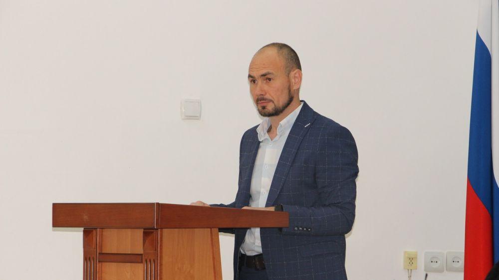 Заместитель главы администрации Бахчисарайского района Александр Морозов проинформировал об инвентаризации кладбищ