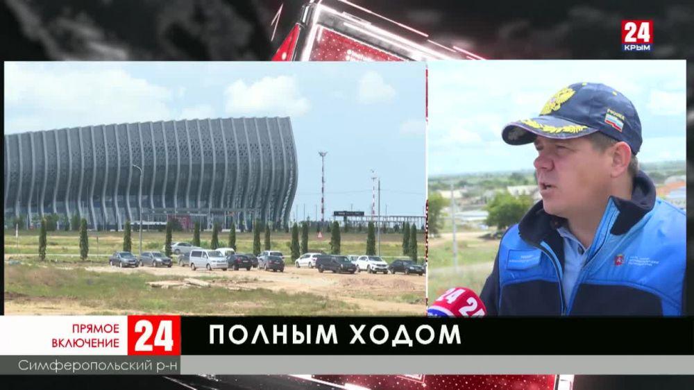 Строители крымских дорог в режиме самоизоляции не прекращали работу