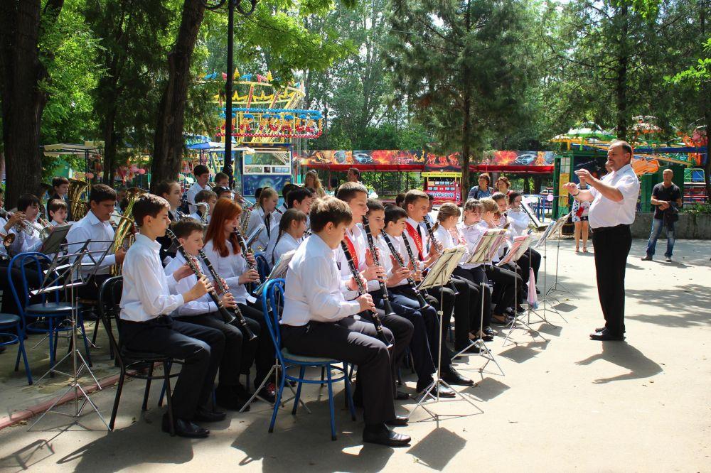 В Гагаринский парк Симферополя вернутся духовые оркестры