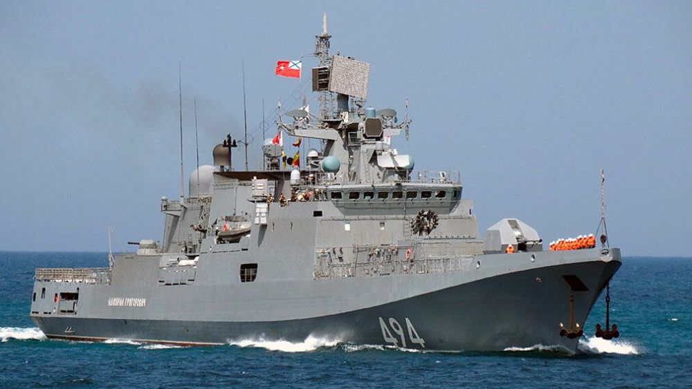 «Адмирал Григорович» и «Профессор Николай Муру» прибыли на Шри-Ланку