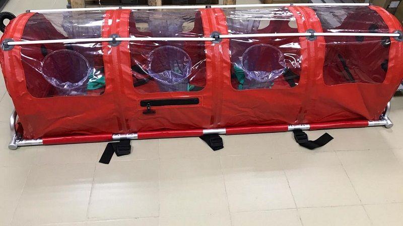Крымский Центр медицины катастроф и скорой помощи получил боксированные носилки