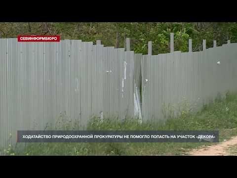 Эксперт-эколог с ходатайством природоохранной прокуратуры не смог попасть на участок «Декора»