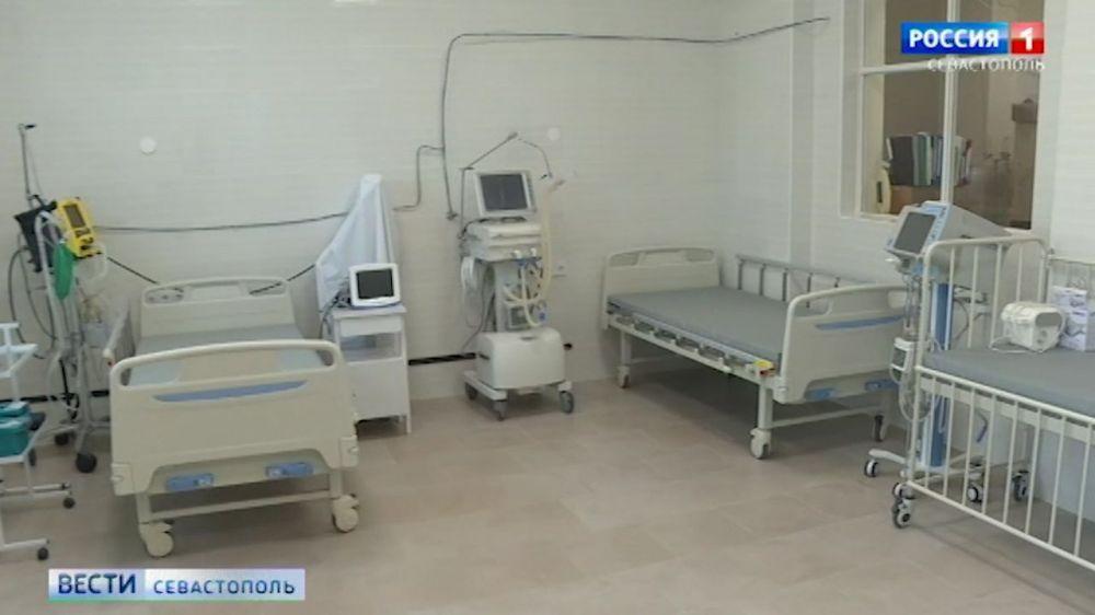 В Севастополе новый корпус инфекционной больницы готов к приему пациентов