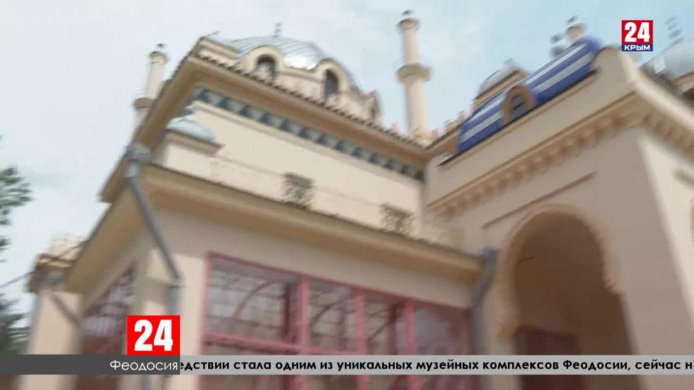 В Крыму продолжают реставрацию исторических зданий