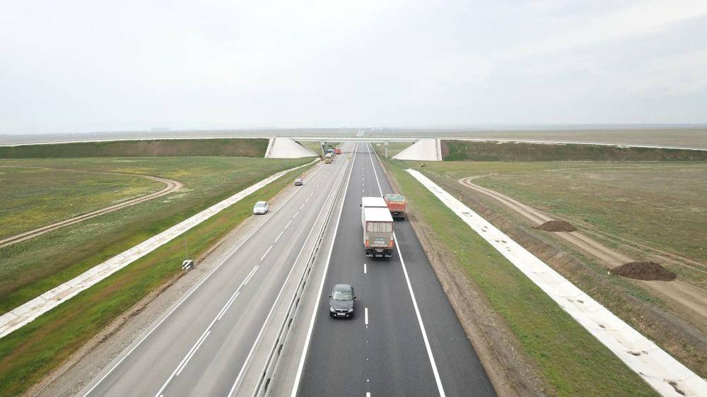 В 2021 году вдоль трассы «Таврида» начнут вводить в работу комплексы придорожной инфраструктуры