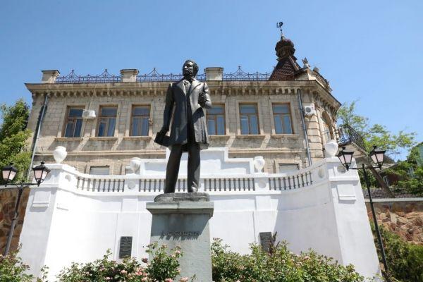 Председатель Государственного Совета Крыма Владимир Константинов посетил с рабочей поездкой Бахчисарайский район