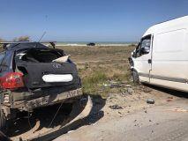 Смертельное ДТП на дороге «Саки – Евпатория»