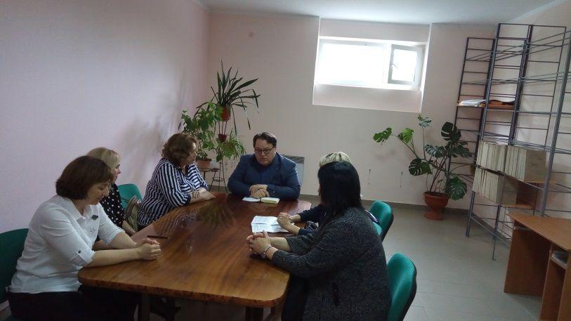 Олег Лобов посетил архивное управление администрации города Симферополя
