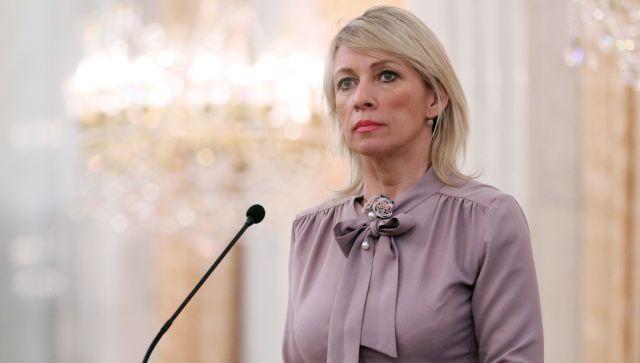 """Захарова оценила """"решительный протест"""" Киева против парада в Крыму"""