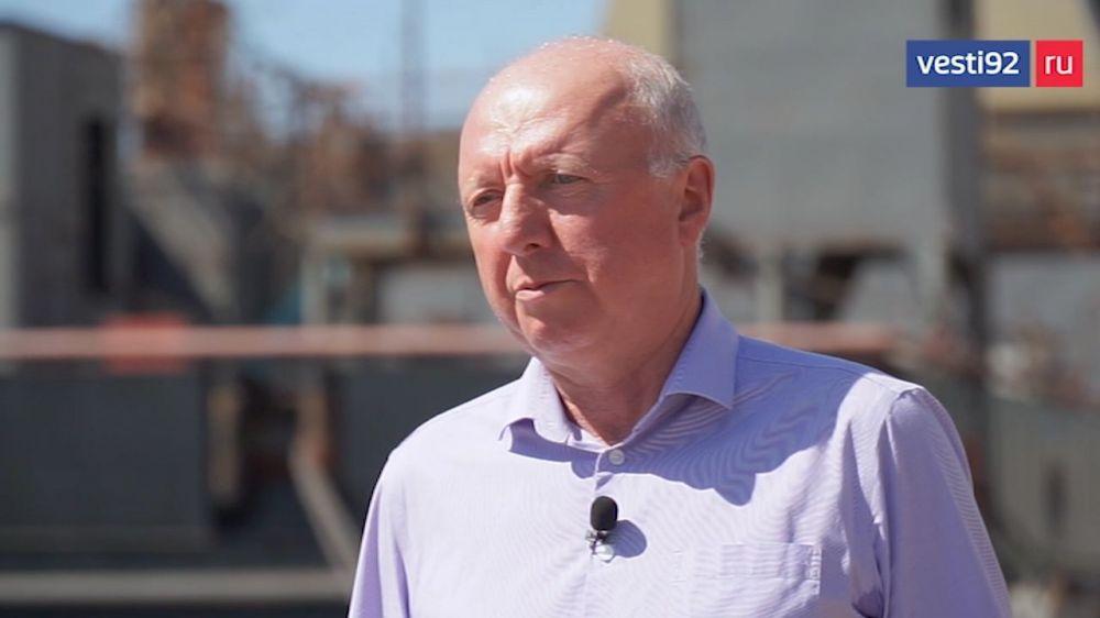 Какие суда строят сегодня в Севастополе рассказал директор Севморзавода