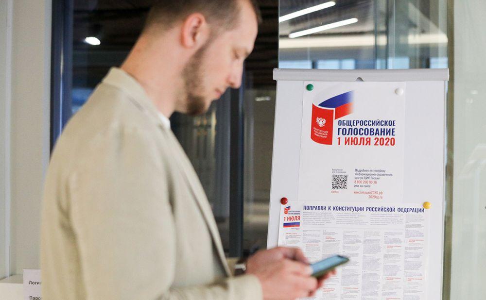 В Крыму явка на голосовании по поправкам к конституции достигла 70%