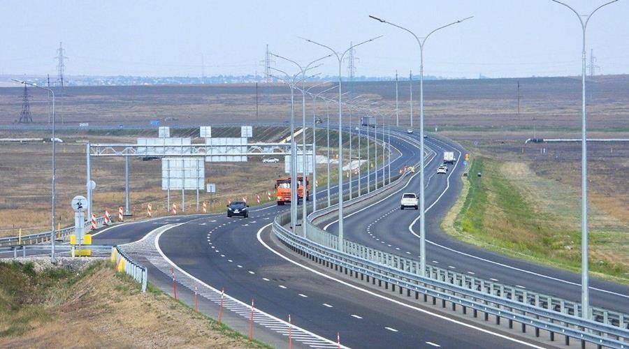 Движение по четырем полосам открыли на «Тавриде» от Керчи до Белогорска