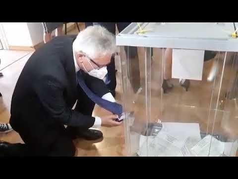 Международные эксперты посетили избирательный участок в Семеизе