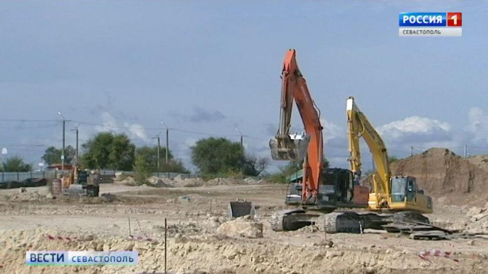 В Севастополе строительство школы на Шевченко закончат раньше срока