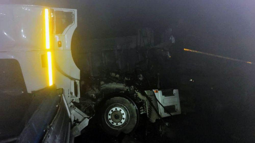 Вечернее ДТП на трассе «Таврида». И снова грузовик