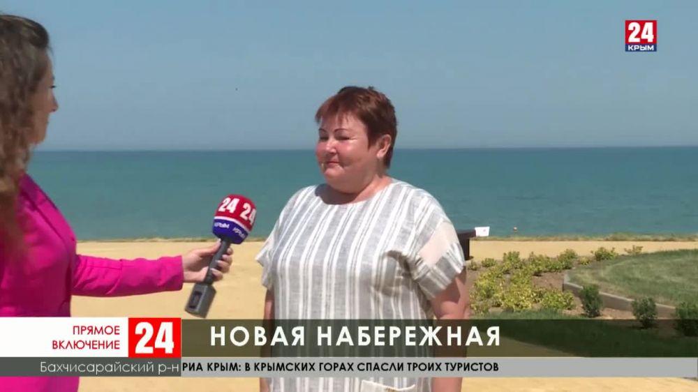 В селе Угловое Бахчисарайского района открыли новую небрежную