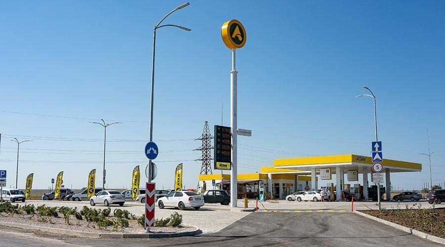 Новый автозаправочный комплекс ATAN открылся в Черноморском